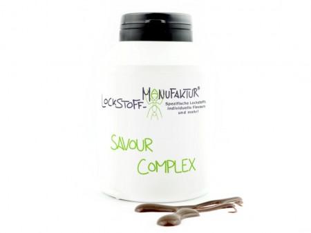 Savour Complex enthält viele natürliche Verbindungen, welche selektiv den Geruchs- und Geschmackssinn des Karpfens ansprechen.