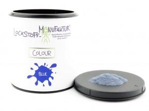 Blauer Farbstoff für die Herstellung von (für den Karpfen) sehr gut sichtbaren Boilies.