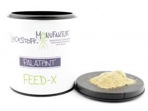 Feed-X enthält viele natürliche Verbindungen, welche den Karpfen zum Fressen anregen.