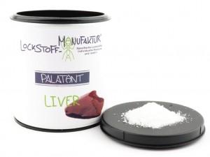 Palatant Liver enthält die wesentlichen Lockstoffe aus der Leber - extrem fängig auf Karpfen.