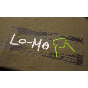 Der hochwertige Aufdruck wird in Deutschland gefertigt und macht das Lo-Ma Shirt zum Blickfang.