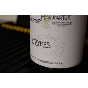 Speziell für Baits aus Kohlenhydraten - die N'ZYMES haben ihren ganz speziellen Einsatzzweck.