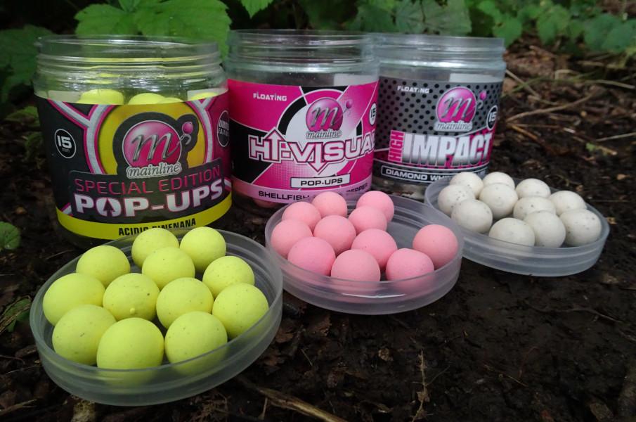 Die Farbe der Pop Ups ist entscheidend für schnelle Bisse - mit einer Auswahl an bestimmten Ködern kann man erfolgreich Karpfen angeln.