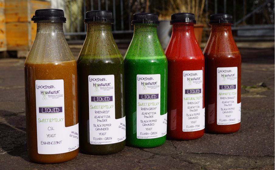 Individuelle Lockstoffe wie Liquids, Dips oder Soaks für Karpfen mit Rabatt bestellen!