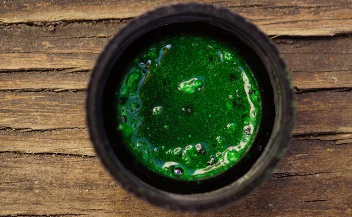 Die extrem auffällige und einmalige Farbe des Liquids im Zilla-Style sorgt für Furore unter Wasser.