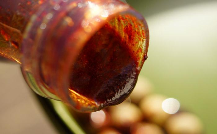 Das Red Liver Liquid ist aufgrund der wasserlöslichen und hochwertigen Attraktoren besonders auch im Winter sehr fängig.