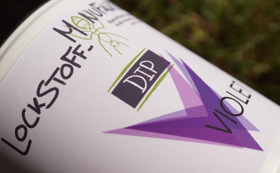 Violet Dip ist ein uv-aktiver Dip für das Angeln auf Karpfen